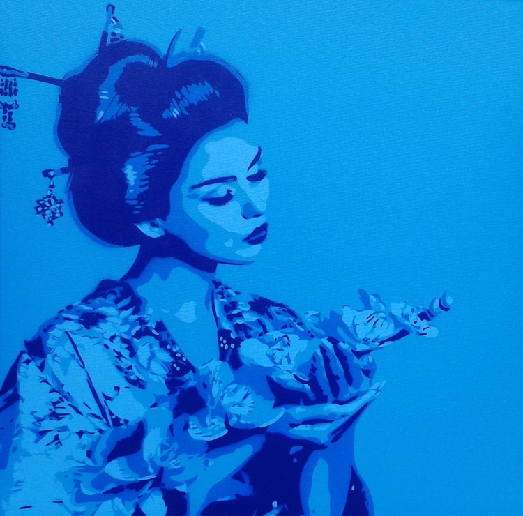 Blue Geisha - Image 0