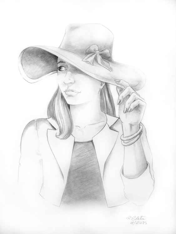 Girl With Hat -
