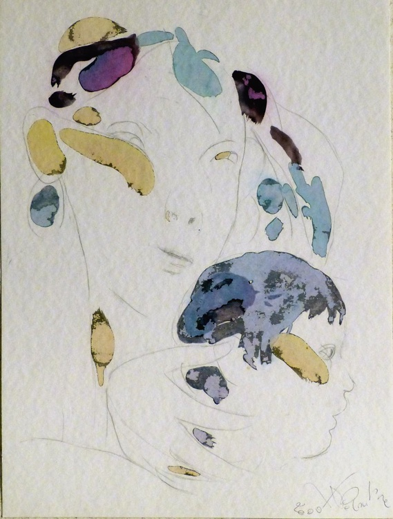 Maternity 10, 36x48 cm - Image 0