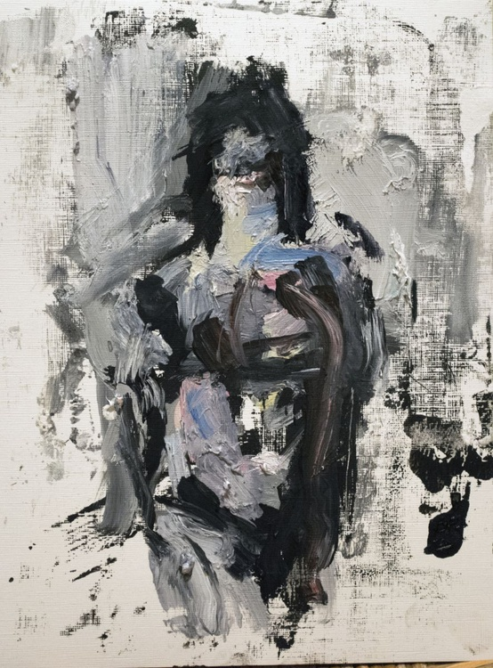 a standing woman - Image 0