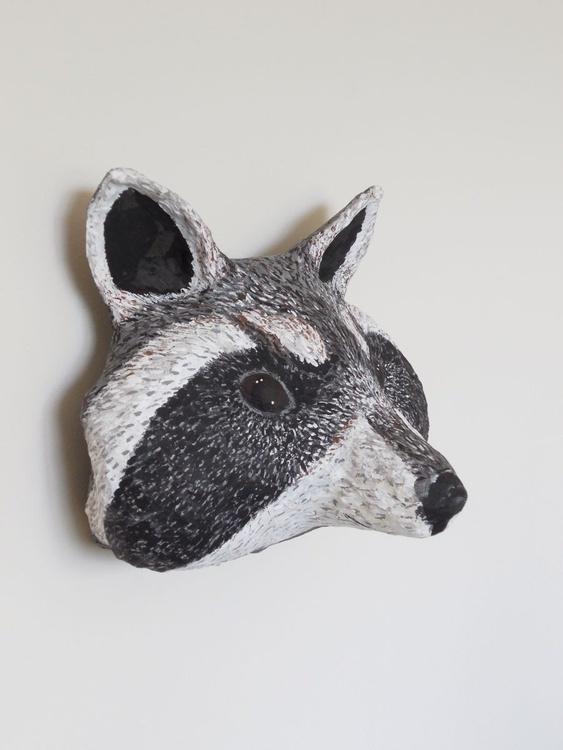 Radical Raccoon Head - Image 0