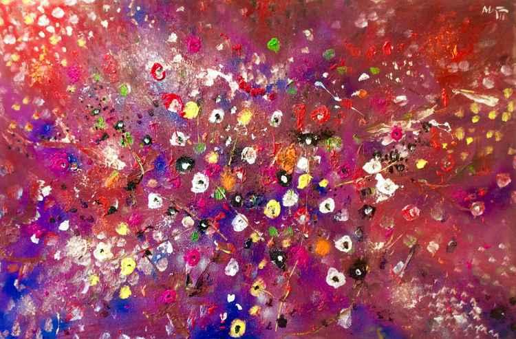 Ocean of flowers X