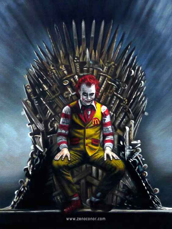 THE JOKER (IRON THRONE) -