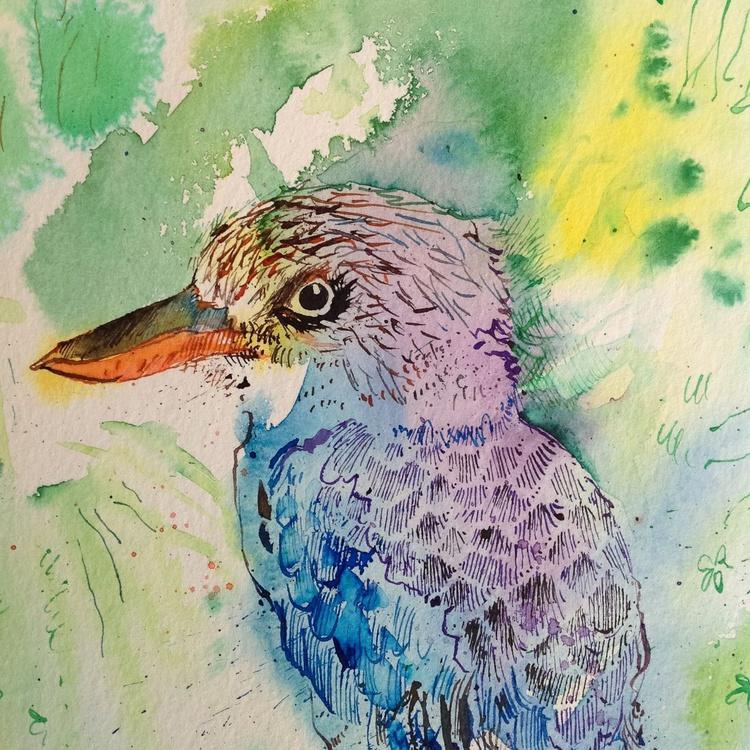 Blue-winged kookaburra - Image 0