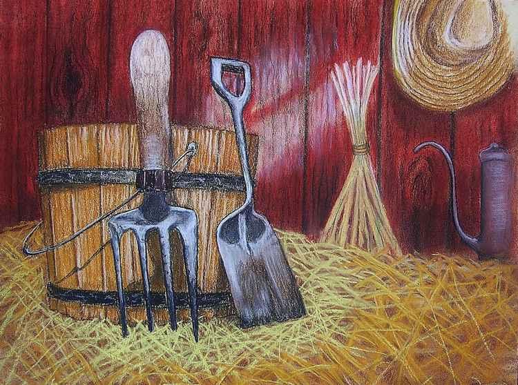 Old Farm Gardening -