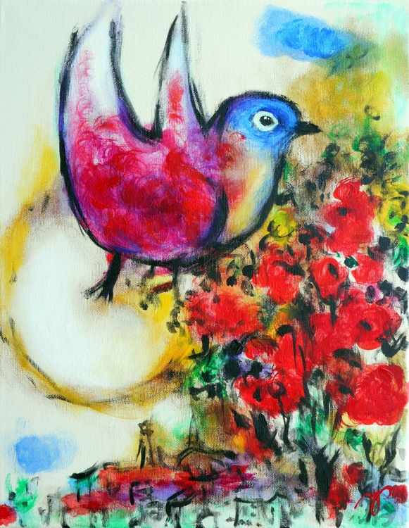 The Bird (after Marc Chagall) - Image 0