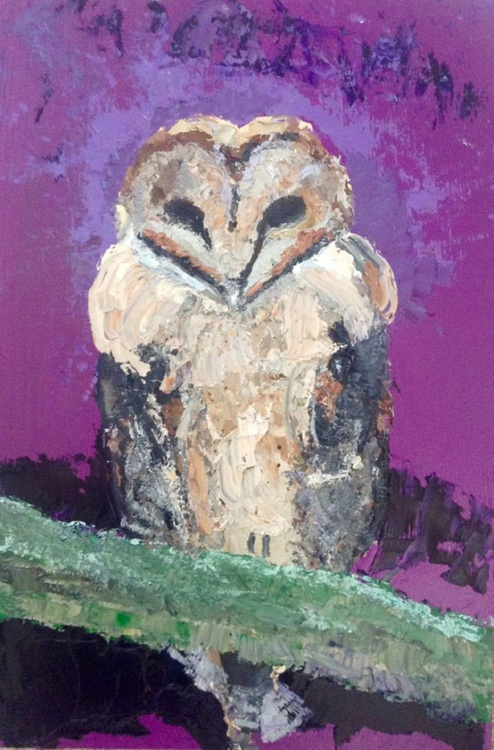 Owl in a Palm - Image 0