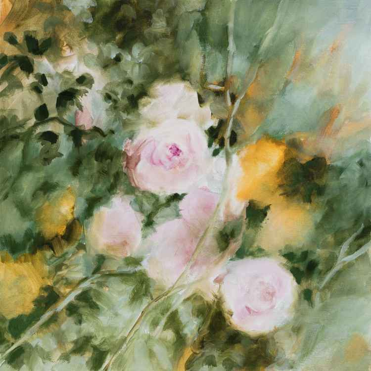 Sweet roses - Tribute to Renoir's impressionism