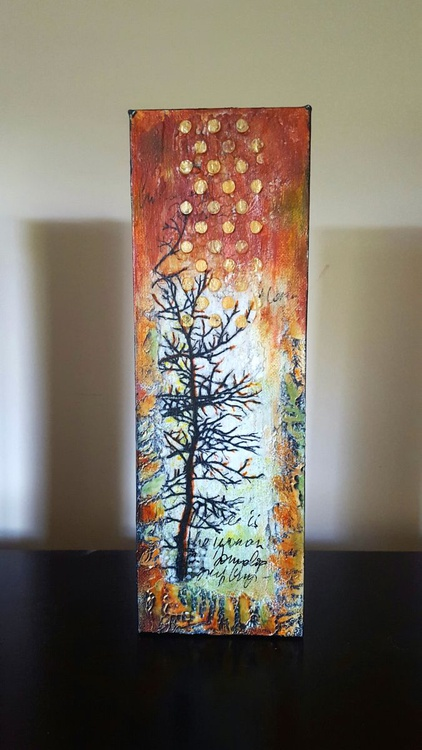 small tree painting - Image 0