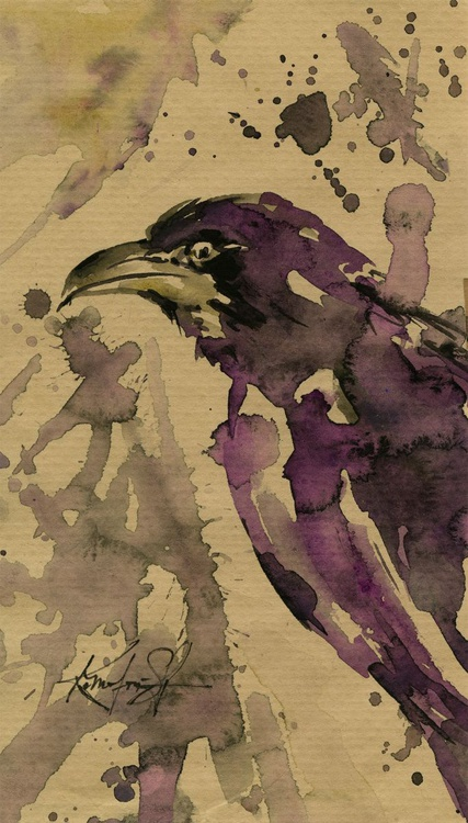 From the Crow & Raven Series - Sketch No. 6 - Image 0