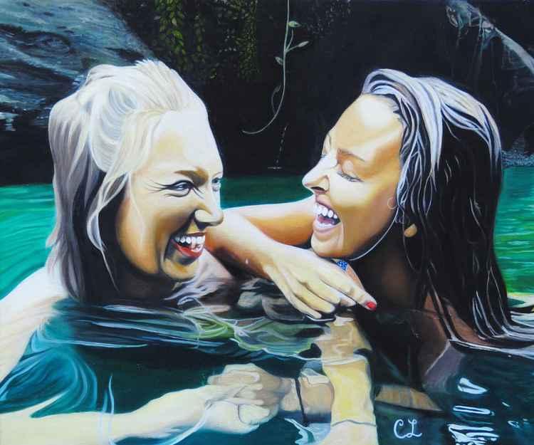 Swimming Beauties