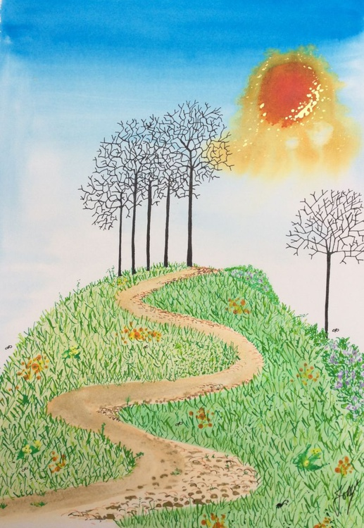 Path To The Spinney - Image 0