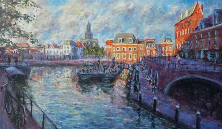 Evening at Leiden -