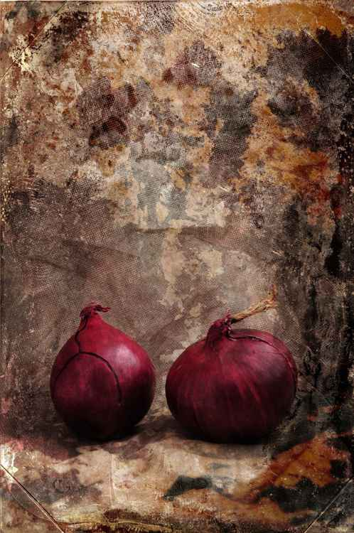 Two Red Onions -