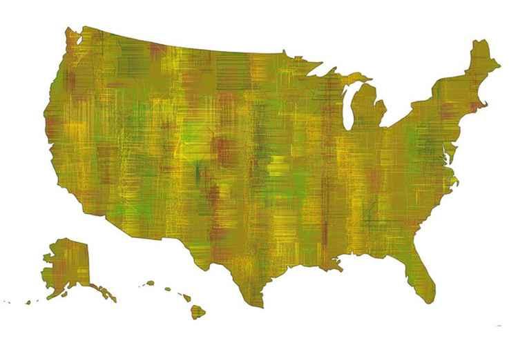 USA Map 8