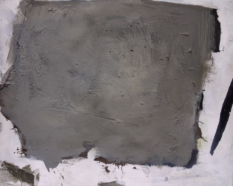 Lost places #3 | grey white black | abstract | Work No. 2013.19 - Image 0