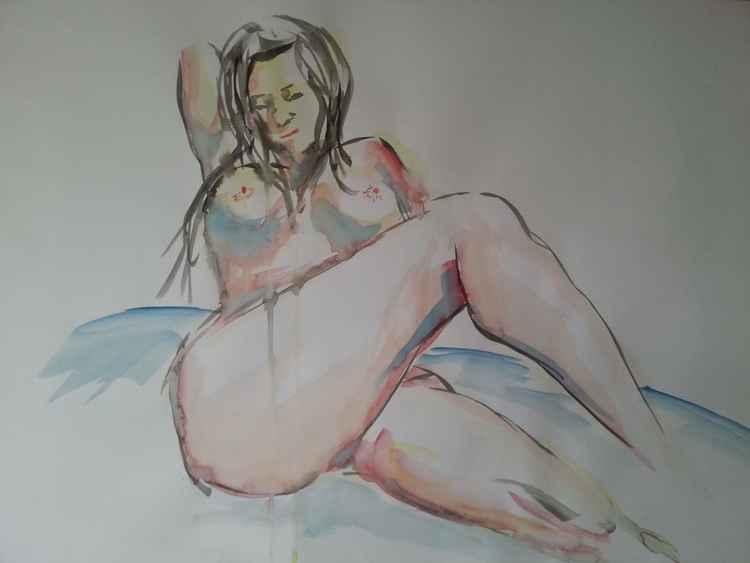 nude model 1 -