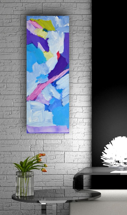 """In The Clear Air 10"""" x 30""""/ 25  x 76 cm - Image 0"""