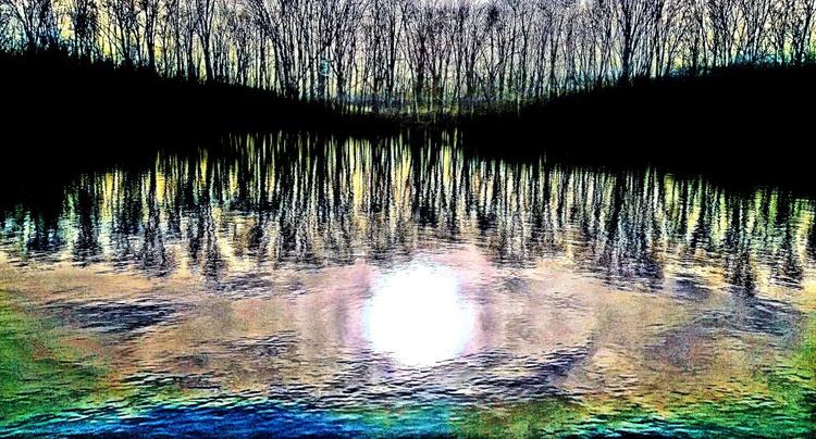 Lake Woods Sunset 7 - Image 0
