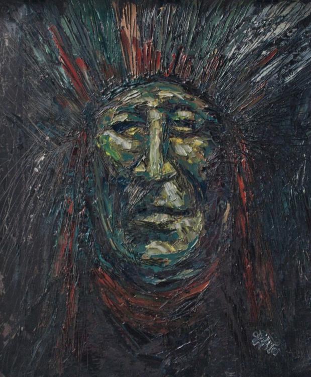 Chieftain - ancient faces VI. - Image 0