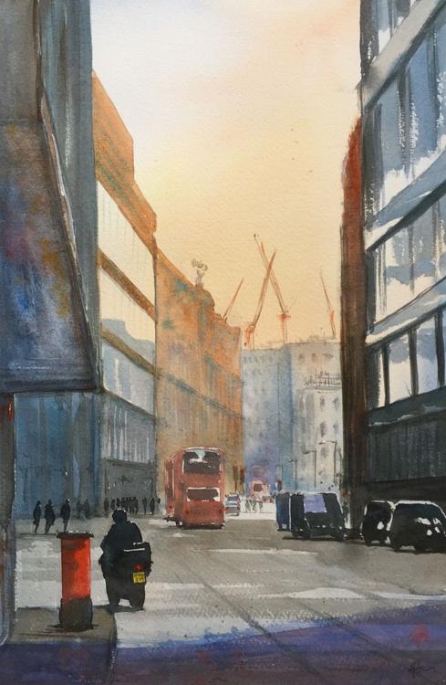Bishopsgate Morning - Image 0