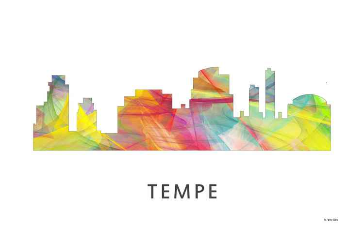 Tempe Arizona Skyline WB1