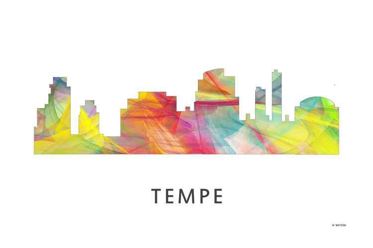 Tempe Arizona Skyline WB1 -
