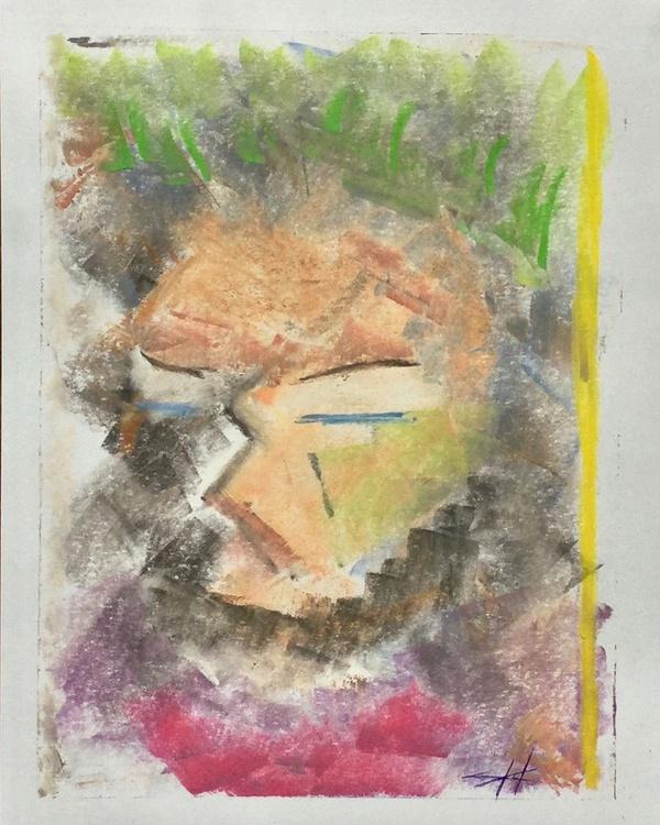 Man Sleeping (day sketch 6) - Image 0