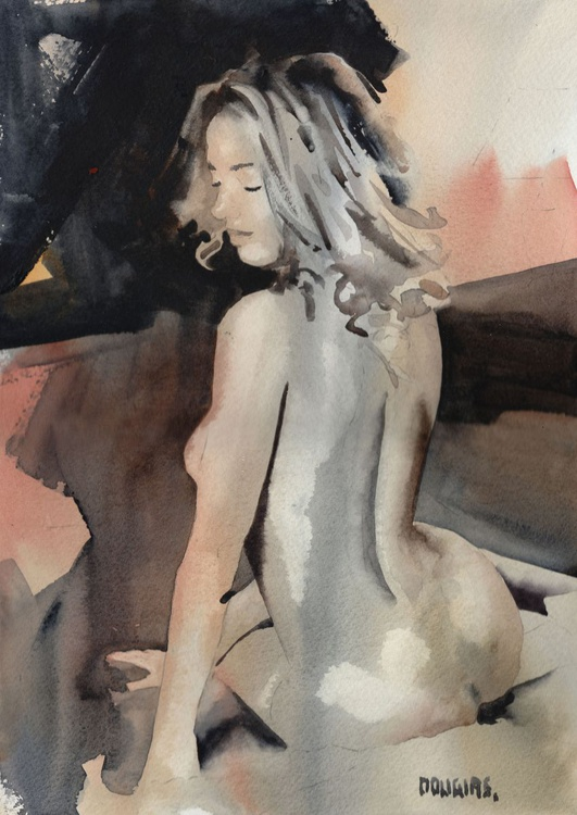 'Nude from the Back' - Image 0