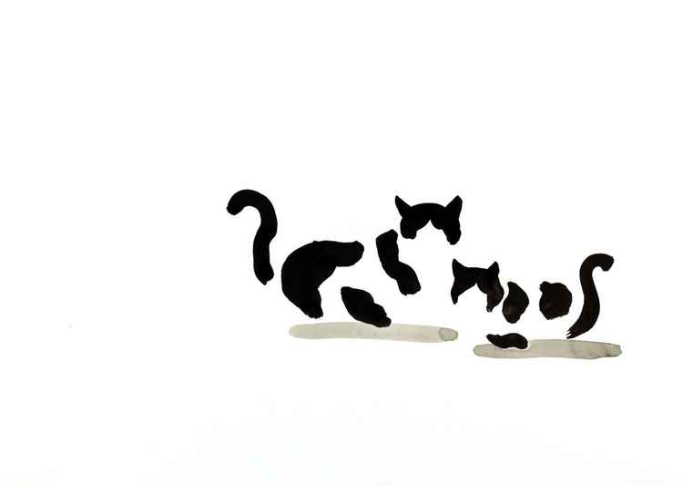 Cat and kitten 4229.1 -