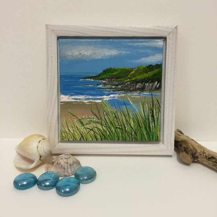 Gower minis - Caswell looking towards Pwll du head - Image 0