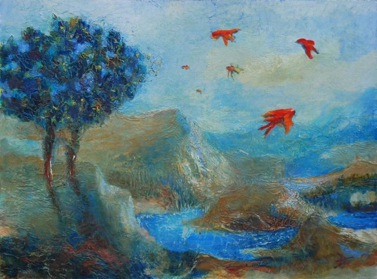 Postcard From Oputia:  Exotic Birds - Image 0