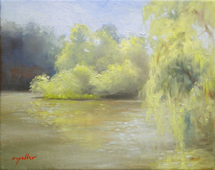 River, Early Morning - Image 0