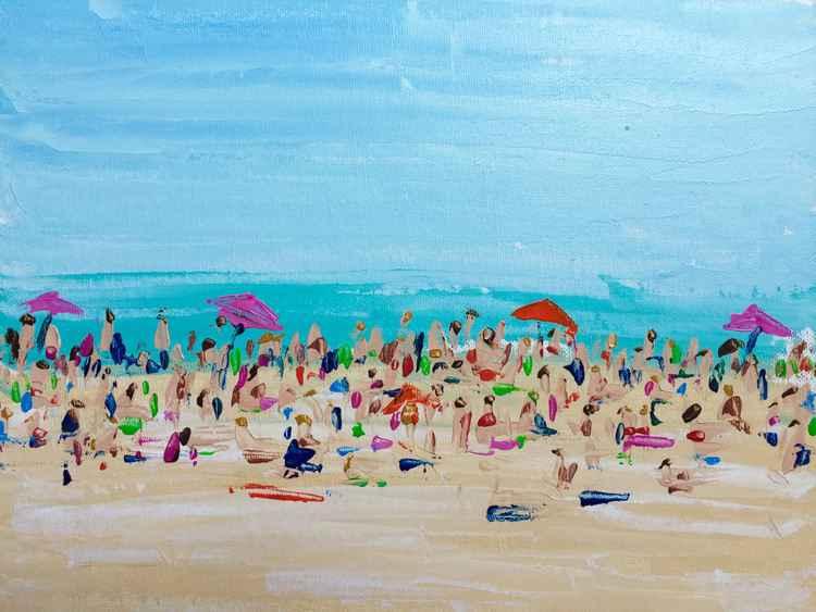 """Beach Life  11""""x4"""" -"""