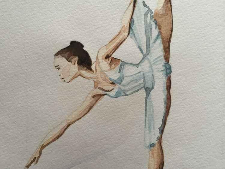 Ballerina blue -