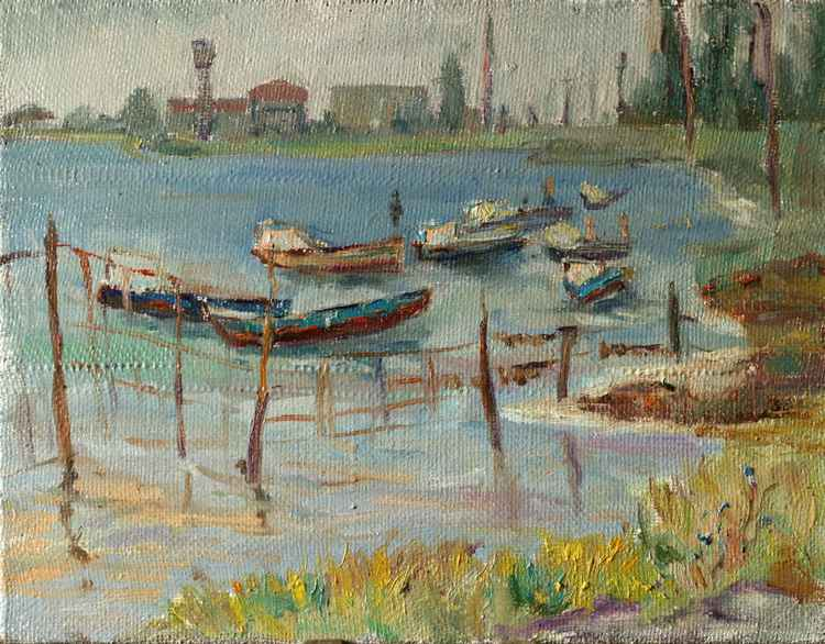 Boats on the shore -