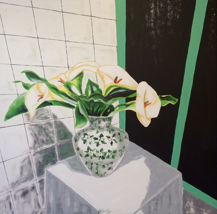 Flowers in the kitchen - Image 0