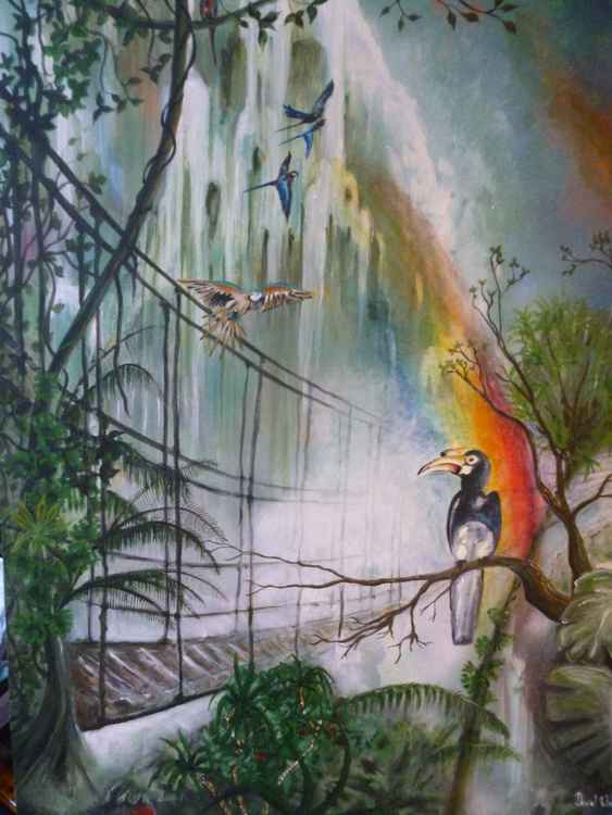 Rainbow Bird -
