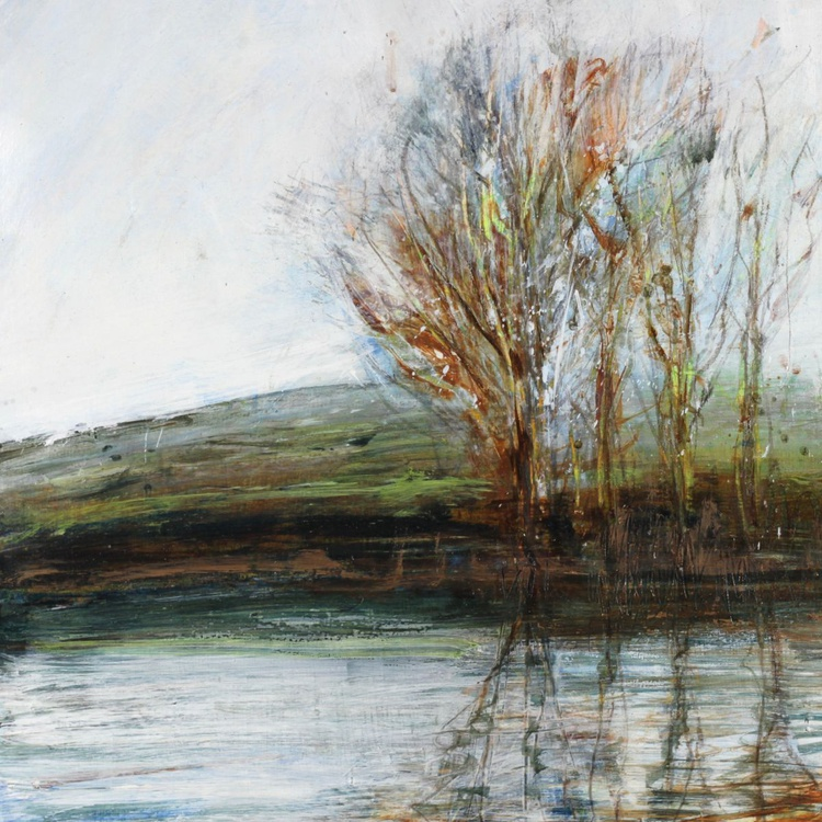 Scruffy Winter Trees on the Ouse - Image 0