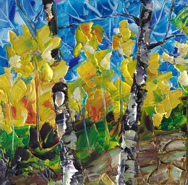 Fall Colors. (Palette Knife) - Image 0