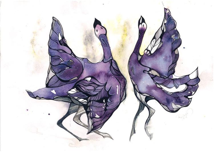 Dancing birds - Image 0