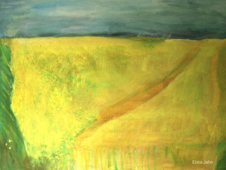 The Field - 48 x 36 cm - Image 0
