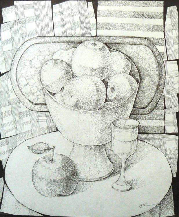 Apples in a vase - Image 0