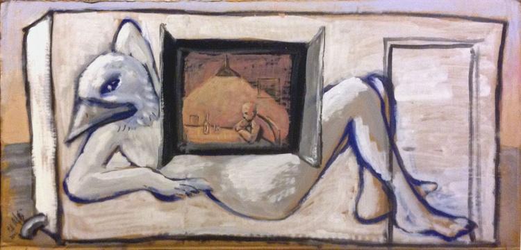 Painted hut - Bird woman - Image 0