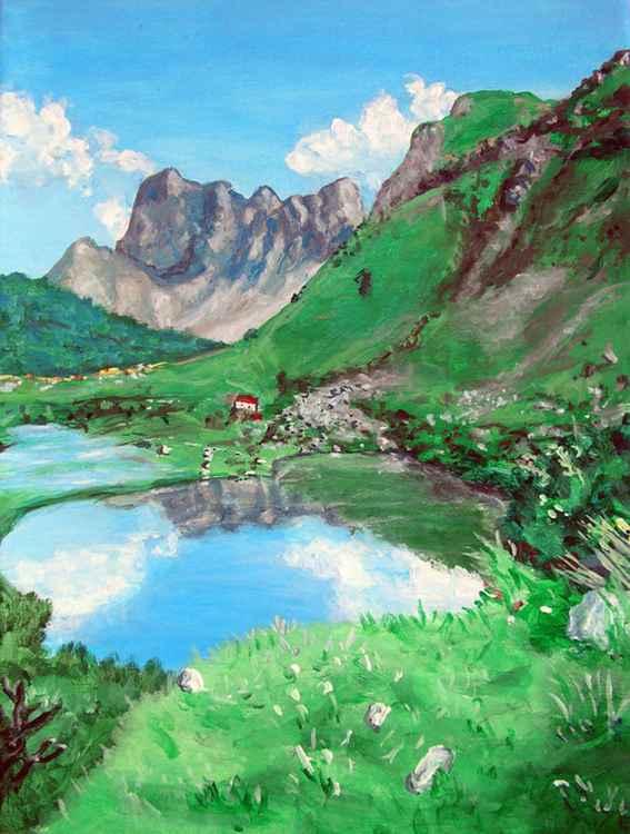 Mountain Lake - Free Shipping -