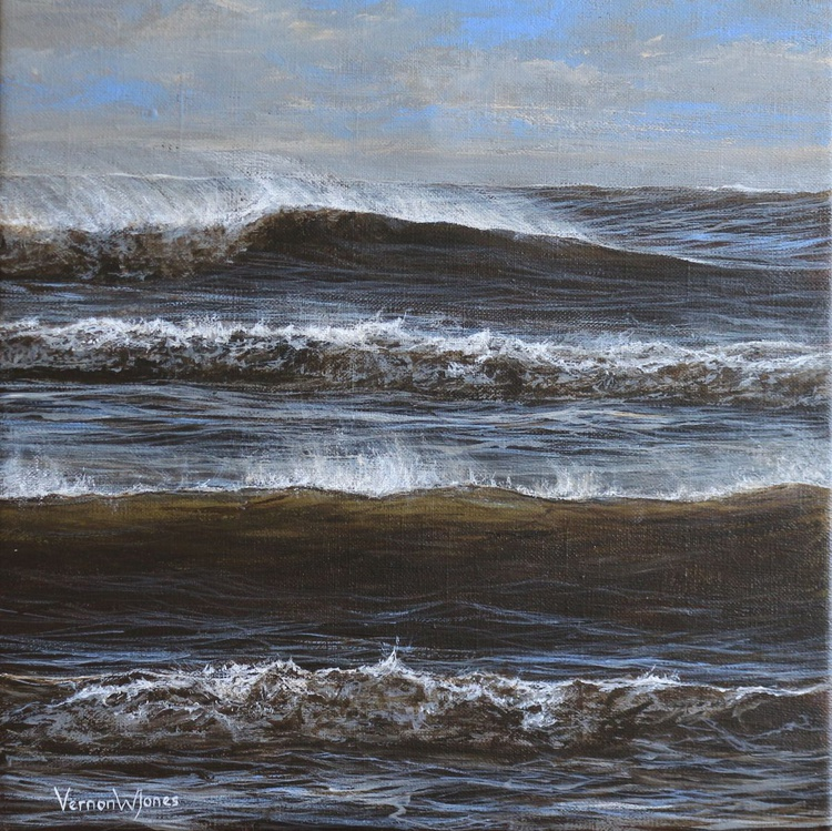 """Winter sea at Swansea"" - Image 0"