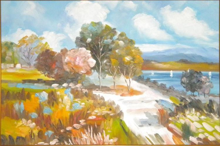 Lake and hills - Image 0