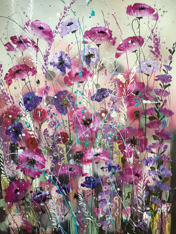 Pink poppy shimmer - Image 0