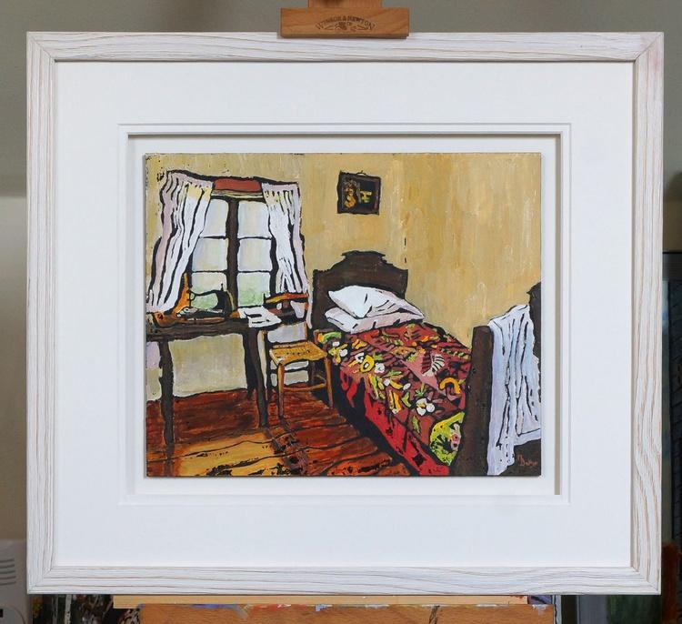 A Seamstress's Bedroom - Ink Resist - Image 0