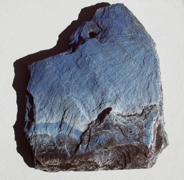 Slate Painting: Bluebird Sky - Image 0